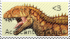 Acrocanthosaurus Stamp by Acro-Sethya