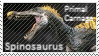 Primal Carnage Spinosaurus Stamp by Acro-Sethya