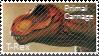 Primal Carnage Tyrannosaurus Rex T-Rex Stamp by Acro-Sethya