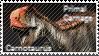 Primal Carnage Carnotaurus Stamp by Acro-Sethya