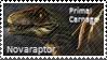 Primal Carnage Novaraptor Stamp by Acro-Sethya