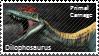 Primal Carnage Dilophosaurus Stamp by Acro-Sethya