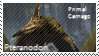 Primal Carnage Pteranodon Stamp by Acro-Sethya