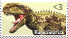 Rajasaurus Stamp by Acro-Sethya