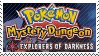PMD Stamp : Pokemon Mystery Dungeon Darkness by Acro-Sethya