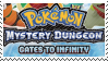 PMD Stamp : Pokemon MD Gates to Infininty by Acro-Sethya