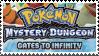 PMD Stamp : Pokemon MD Gates to Infininty by Acro-Sethya