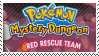 PMD Stamp : Pokemon Mystery Dungeon Red by Acro-Sethya