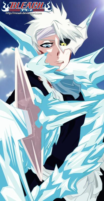 Hitsugaya Toushiro [Bleach #553] by MrAali