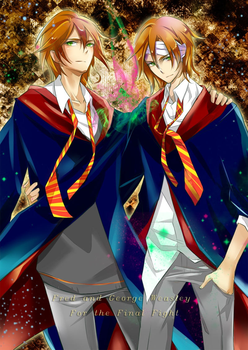 Fred And George Weasley Anime Fred and george weasley byFred And George Weasley Anime