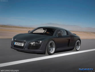 AUDIR8FROSTED by mitsukodesign