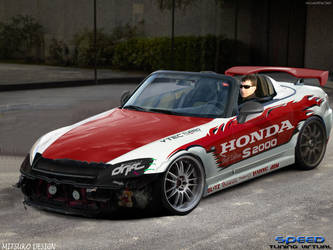 HONDAS2000DRIFTEDITION by mitsukodesign