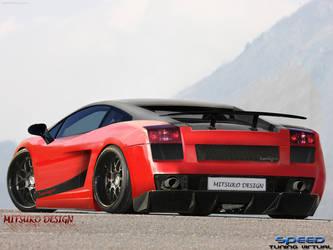 Lamborghini Superleggera by mitsukodesign