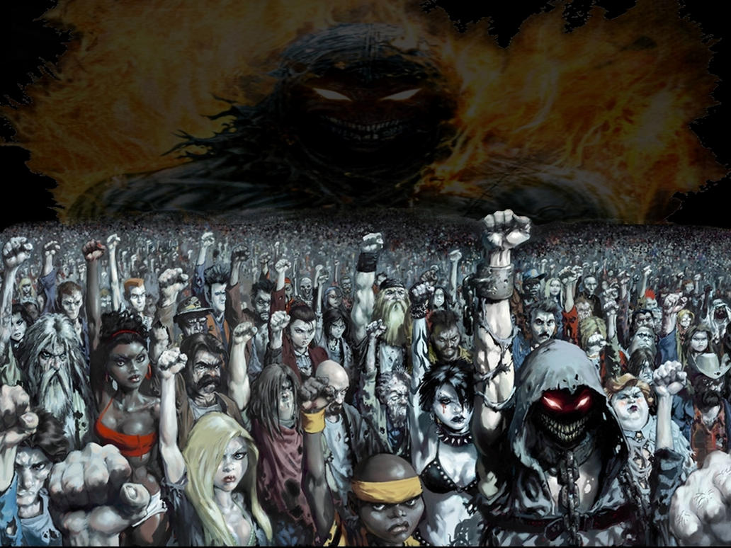 Disturbed - Ten Thousand Fists by PsychoMonkey666