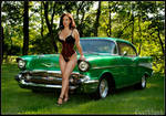 this is a chevy bel air
