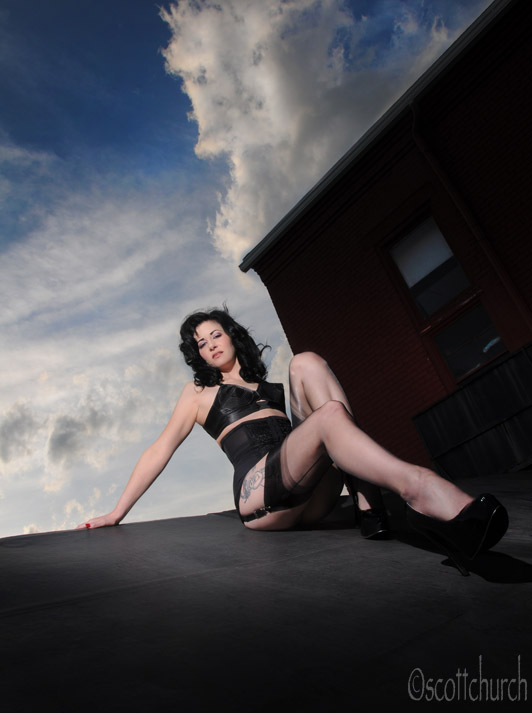 nyxon on the roof by scottchurch