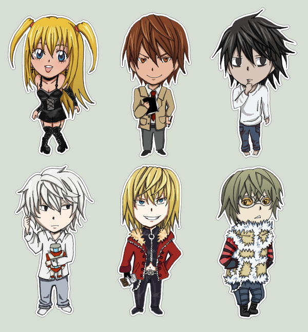 death note chibi light - photo #29