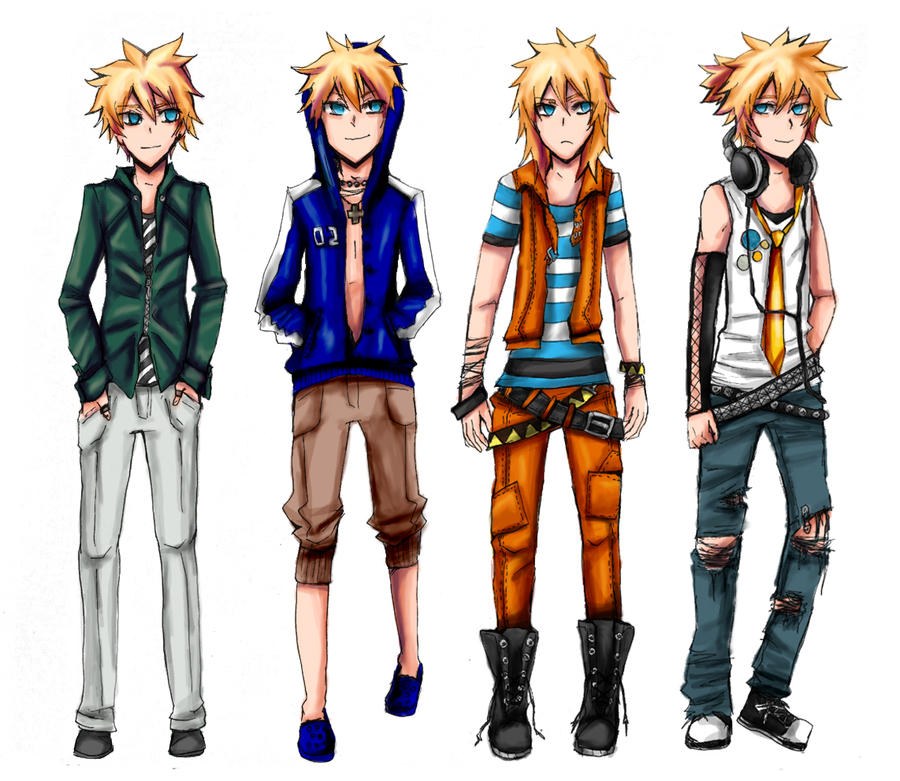 Anime Clothes Design Games Len clothes design by