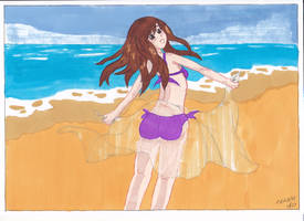 On The Beach by manga-DH