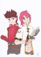 Lloydluke by manga-DH