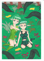 Sisters Foret by manga-DH