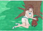 Yoshiko Sleeping