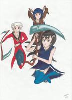 Trio by manga-DH