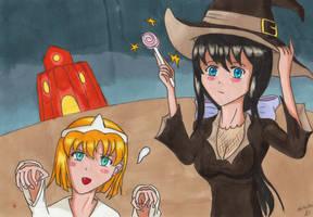 Luciehalloween by manga-DH