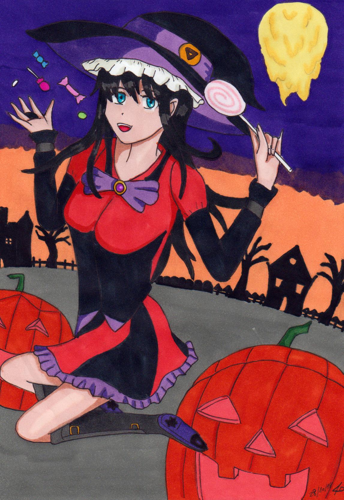 Luciehalloween18 by manga-DH