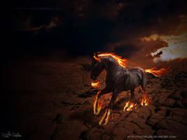 Devil's Fire by plutoplus1