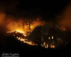 Fire God by plutoplus1