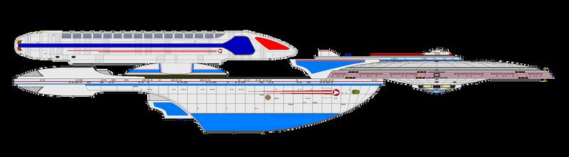 Star Trek Universe - USS Titan NCC-80102