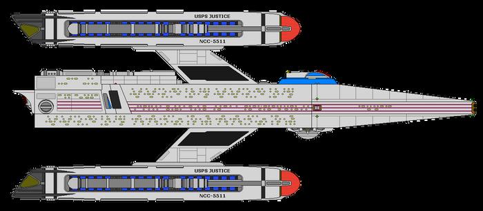 Star Trek Infinity - U.S.P.S. Justice NCC-5511