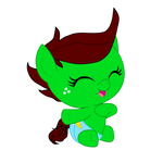 MLP Vector - MLP OC - Jungle Jewel (Baby) - 1