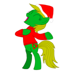 MLP Vector - MLP OC - Jungle Heart - 4 (Xmas)