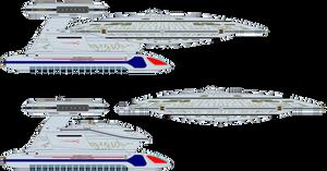 Star Trek Universe - USS Farragut NCC-60597