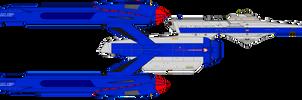 Star Trek Infinity - Great Fox by OptimusV42
