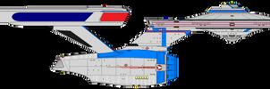 Star Trek Alpha - U.S.S. Highwind NCC-1997