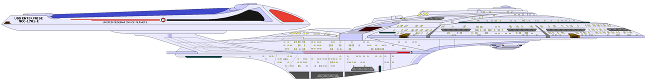 Star Trek Cosmos - USS Enterprise NCC-1701-E