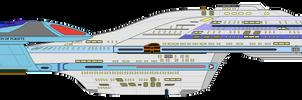 Star Trek Delta - USS Azura NCC-1201 by OptimusV42