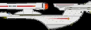 Star Trek (TOS) - USS Excelsior NCC-2000