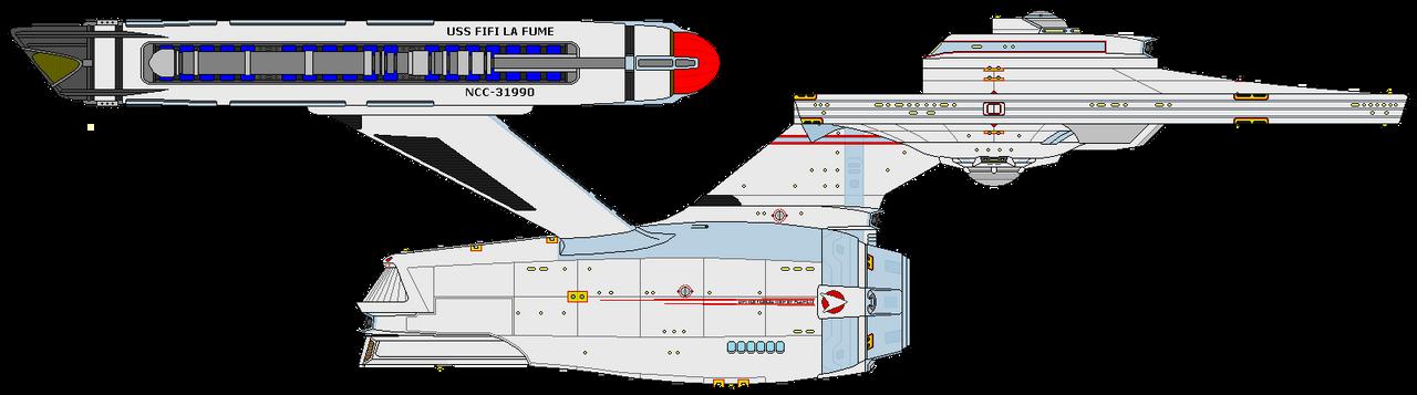 Star Trek Infinity - USS Fifi La Fume NCC-31990