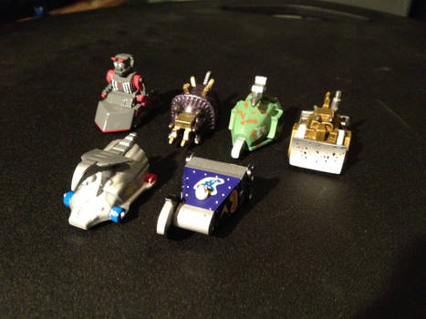 My Robot Wars Mini-Bots Collection