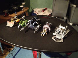 My Robot Wars Pull-Back Toys - The House Robots