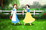 Disney - Belle And Snow White (Request)