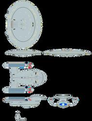 Star Trek Universe - Galaxy Class (Improved) - 2