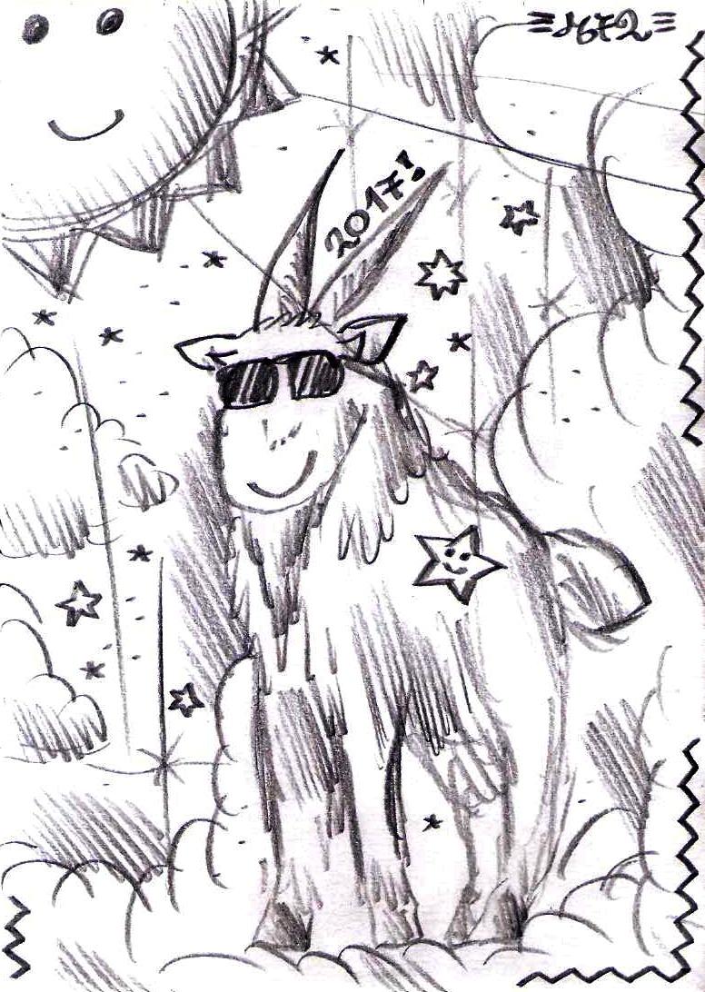 Cool Goat!!! by Meztli72
