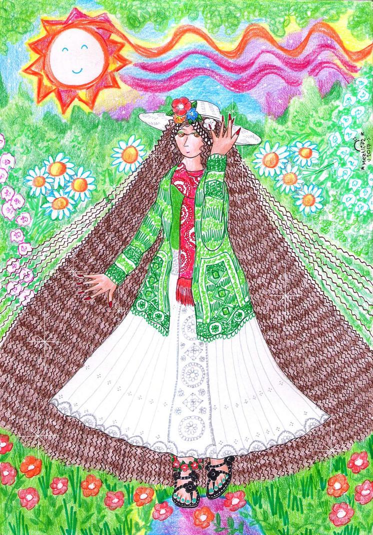 Mori Girl Kala by Meztli72