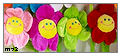 Plush Flowers Stamp by Meztli72