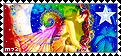 Rainbow Fairy Stamp by Meztli72